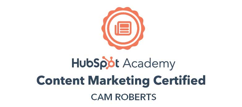 Cam HubSpot Content Marketing